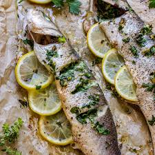 whole oven baked sea b recipe