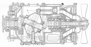 axial internal combustion engines above the 7 litre bristol axial engine of the mid 1930s designed by charles redrup nine cylinder static barrel wobble plate type