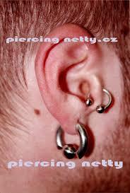 Tetování Ucho Tetování Tattoo