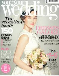 Published French Fairytale Bridal Shoot Feature In Your Your Your Wedding Magazine