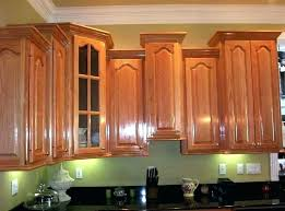 installing crown molding on kitchen cabinets how