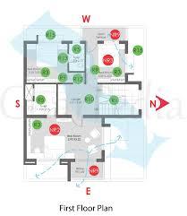 plan ysis of 4 bhk duplex 117 sq mt first floor plan