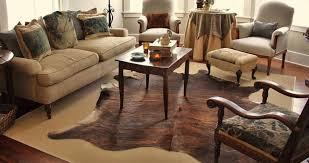 genuine brindle cowhide rug
