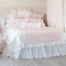 frances lace duvet cover set pink waterfall ruffle duvet cover ruffle duvet cover twin white pink