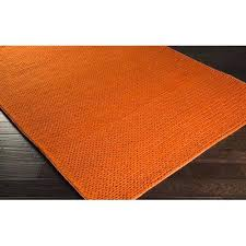 burnt orange area rug rugs large and green