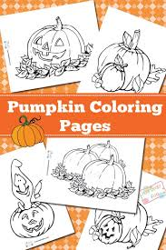 Vector pumpkin illustration, hand drawn helloween vegetable in z. Pumpkin Coloring Pages Itsybitsyfun Com