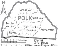 tryon, north carolina wikipedia Tryon Nc Map map of polk county, north carolina with municipal and township labels tryon nc map north carolina