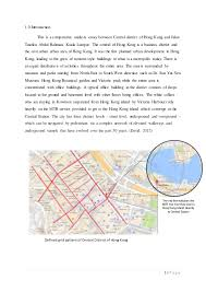 this is a comparative analysis essay between central district of hong  1 p a g e 1 0 introduction this is a comparative analysis essay between central district of