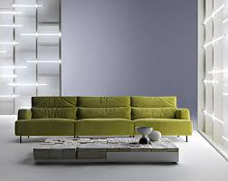 light green sofa aire by cassina
