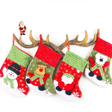Snowflake Medium <b>Christmas</b> Socks Candy Bag <b>Christmas</b> ...