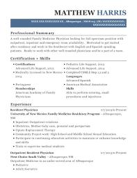 University Of New Mexico Family Medicine Residency Program Resident