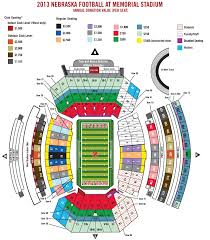 Nebraska Football Season Ticket Minimum Donation Levels