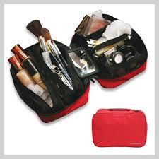 makeup bag organizer. cosmetic bag organizer red makeup i