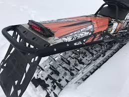 polaris pro ride rmk 163 rear exo bumper b m fabrications