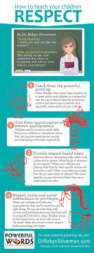 17 best ideas about teaching children respect how to teach your children respect dr robyn silverman powerful words drrobyn