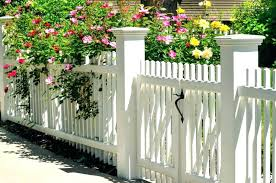 vinyl garden fencing white garden fencing ideas new picket fence styles include posts with end caps vinyl garden fencing
