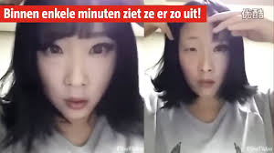 Video De Make Up Removal Challenge Rtl Nieuws