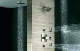 kohler bathroom shower systems wall panels uk best spa system jet delta bathrooms exciting je