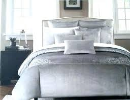 miller bed sets chairs home goods set gray embroidered scroll velvet full queen duvet cover nicole