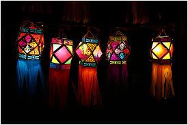 hanging lanterns diy diwali decor