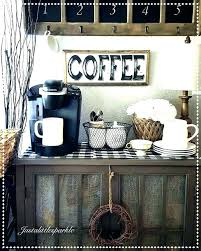 Coffee Stations For Office Kitchen Coffee Station Table Staytrill Co
