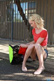 Amateur blonde teen blowjob outdoor