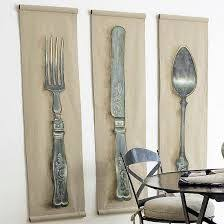 knife fork spoon wall hanging on metal knife fork spoon wall art with knife fork and spoon wall decor wooden kitchen decor large spoon and