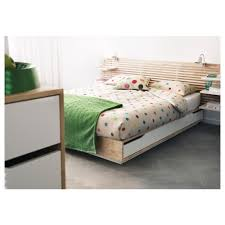 IKEA - MANDAL, Bed frame with storage, , The 4 large drawers give you an  extra storage space under the bed.May be completed with MANDAL headboard.