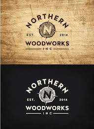 woodworking logo ideas. logo for northern woodworks inc. | 99designs: woodworking ideas