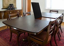 custom table pads for dining room tables superior table pad co inc table pads dining table