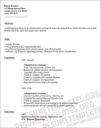 Executive Assistant Resume Objective to write an Administrative Assistant Resume 90