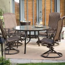 patio table glass top replacement tempered glass patio table patio furniture 54 inch round patio table