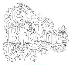 Collection Of Free Girl Scout Coloring Pages Download Them And Try