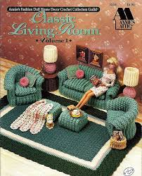 free barbie furniture patterns. annies attic fashion doll crochet living room furniture pattern leaflet for barbie free patterns t