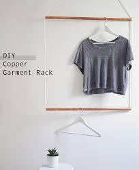 MAKE: Simple Copper Hanging Garment Rack