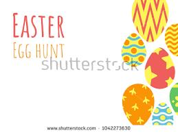 easter egg hunt template happy easter background easter egg hunt stock vector 2018