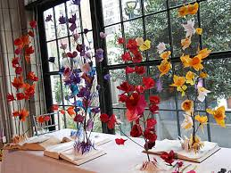 tissue paper flower centerpiece ideas tissue paper flower sculpture for dining table centerpiece with