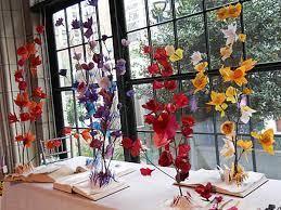 tissue paper flower centerpiece ideas tissue paper flower sculpture for dining table centerpiece with