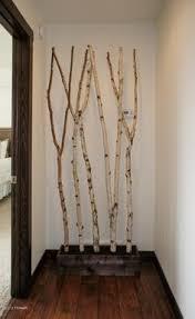 birch log decoration ideas google search basement decor ideas
