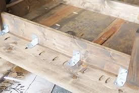 building a farmhouse dining table