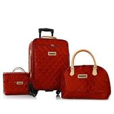Cheap Luggage Sets on Sale at Bargain Price, Buy Quality bags made ... & Joy & IMAN Iconic Quilted Luggage Set w/Handbag_Christmas present from my  Scottie Adamdwight.com