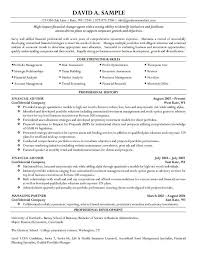 Resume Impact Statement Samples Resume Impact Statement Examples High Samples Financial Ad Sevte 9