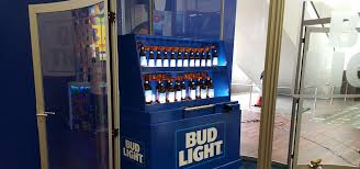 Bud Light Vending Machine Custom Peterson Beer Bottle Organ