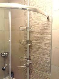 tension shower caddy rust proof rust resistant shower over the door shower