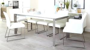 medium size of white gloss glass top dining table ikea extending high end rectangular leather kitchen