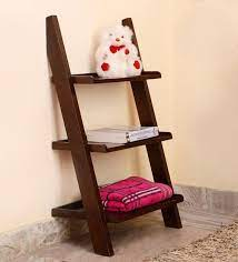 3 tier ladder floating book shelf
