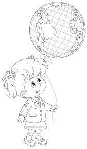 Back To School Coloring Pages Sarah