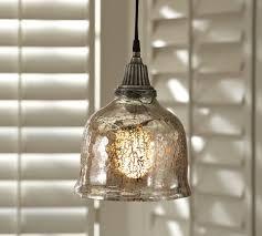 Pier 1 Pendant Lights Interior Wondrous Mercury Glass Pendant Light With Pendant Lamp
