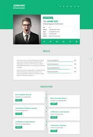 Resume Website Template Resume Website Template Best Html Resume