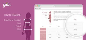 Yith Woocommerce Product Size Charts Documentation
